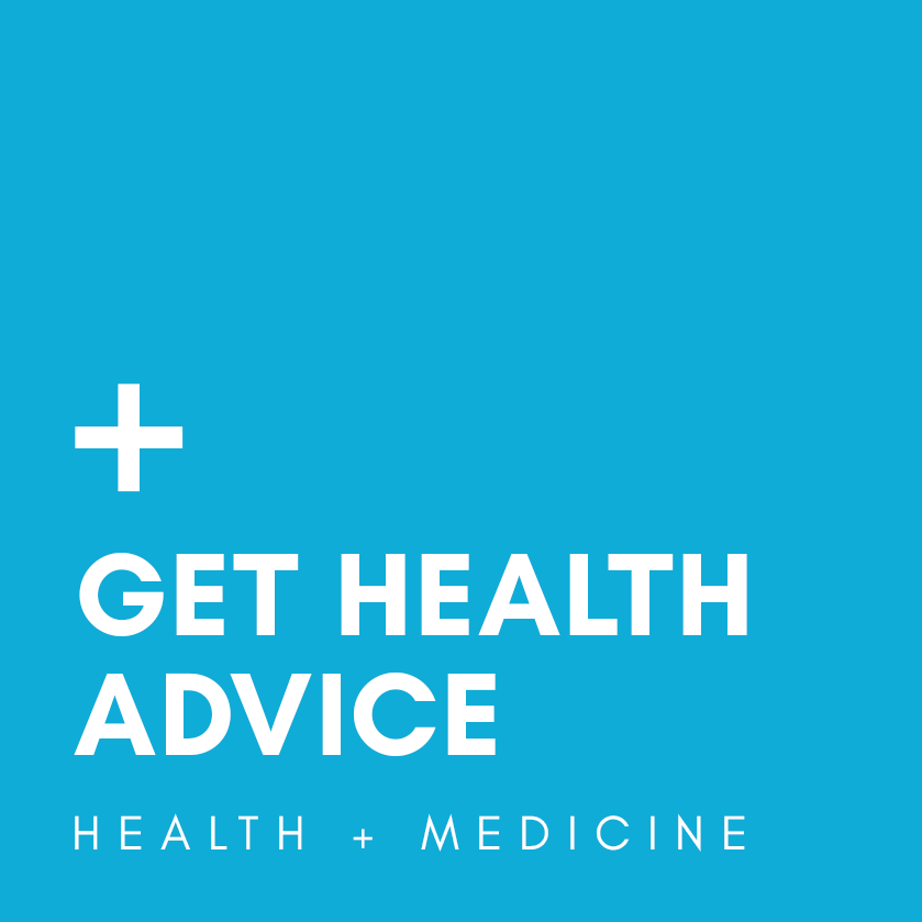 get health advice logo