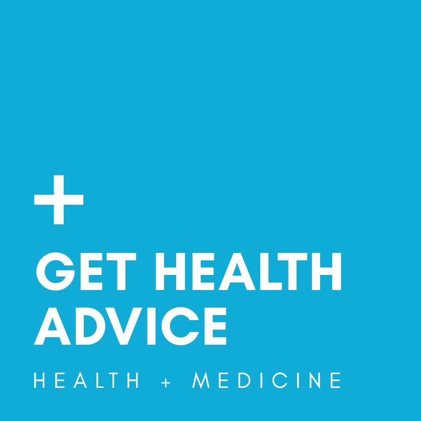 get health advice logo